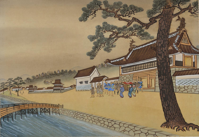 第12図 津和野藩侯館前