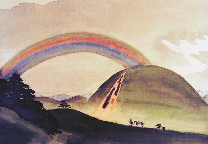 82-青野の虹