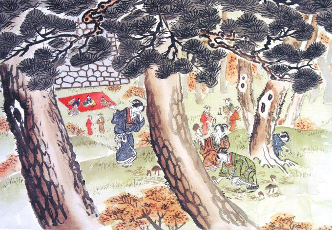5-城山の松茸
