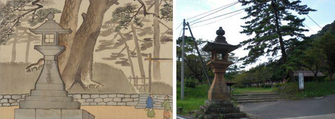 No. 34 Large lantern at Washibara Hachimangu Shrine